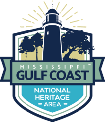 Mississippi Gulf Coast National Heritage Area logo